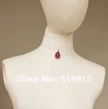 N434 Drop necklace chain vintage accessories necklace female marriage decoration Gothic lolita necklace