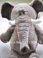 Free Shipping NICI High Quality Lovely Elephant Stuffed Plush Toys 50cm Elephant Doll Children Christmas Gifts Birthday Gift