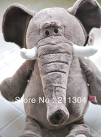Free Shipping NICI High Quality Lovely Elephant Stuffed Plush Toys 50cm Elephant Doll Children Christmas Gifts Birthday Gift