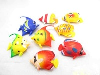 Aquarium ornamental fish a variety of tropical fish varieties aquarium plastic fish #9353