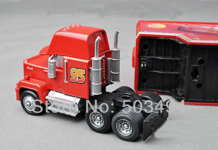 Free Shipping trucks Pixar Cars plastic Mack Muck Truck Car Toys Retail(China (Mainland))