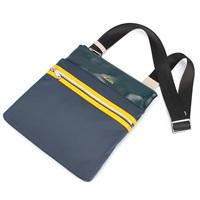 For Ever U Preppy style fashion color block man bag shoulder bag messenger bag waterproof nylon bag casual 9253