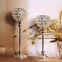 wedding decoration,home decor , candle holders, crystal candle holder , free shipping,wedding candlestick,