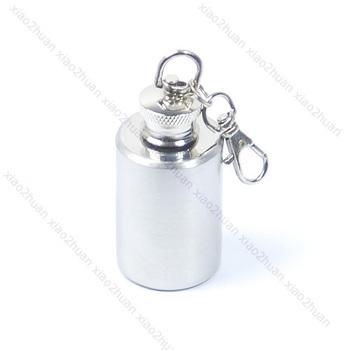 Free Shipping Mini Stainless Steel Alcohol Flask Liquor Bottle 1oz N