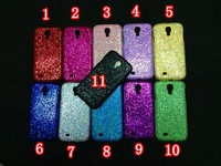 10pcs/lot by DHL&EMS Free Shipping Glitter Bling Pearl Shining Pattern Leather Hard Case For Samsung Galaxy SIV S4 i9500
