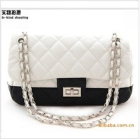 Free shipping 2013 fashion leisure shoes chain handbag online top - shot female bag