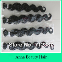 cheap price 400g/lot 100g/pc 4pcs lot best quality indian body wave hair weft machine weft 100% remy  hair extension