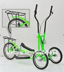 elliptical bike with 3 wheels/indoor outdoor elliptical cross trainer/streetstrider(China (Mainland))