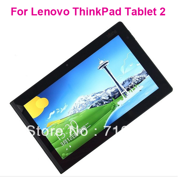 High quality Free Shipping Anti-Glare matte Screen Protector without Retail Package For Lenovo ThinkPad Tablet 2(China (Mainland))