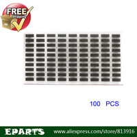 Free shipping 100pcs/Lot LCD FPC Contactor Shielded Sponge Pad Foam Cushion for iPhone 5 Best Replacement Parts