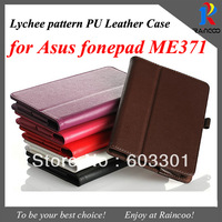 "For Asus fonepad ME371 case, 7""  ME371 tablet stand case, opp bag packing, free shipping"