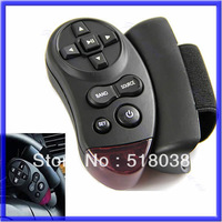 Free shipping New Universal Steering Wheel IR Remote Control For Car CD DVD TV MP3 Player