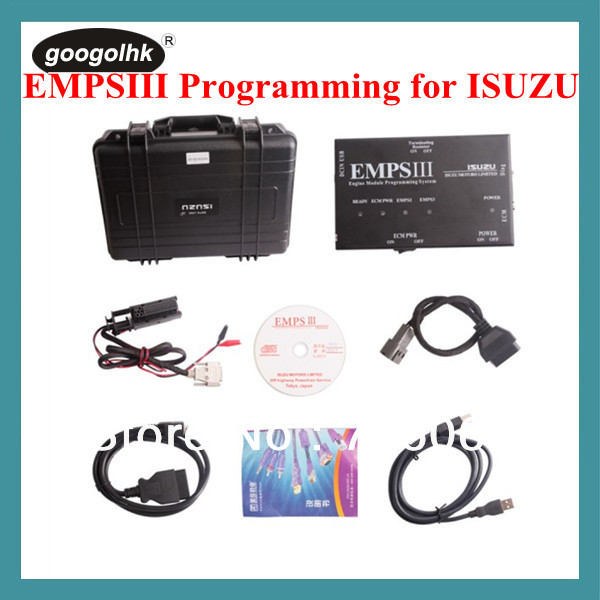 For ISUZU EMPSIII Programming Plus with Dealer Level DHL Free(Hong Kong)