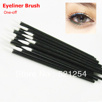 Disposable eye shadow brush eyeliner wand brush wholesale 100pcs/lot Free shipping
