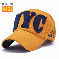 Nyc outdoor hiphop baseball cap male women's hat cap female summer sunbonnet