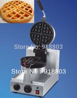 220v Electric Rotated Waffle Baker Maker Machine