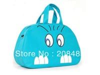 Fashion autumn and winter traveling women's handbag fashion cartoon portable luggage travel bag large capacity canvas bag