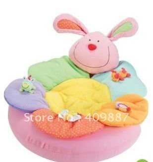ELC Blossom Farm Sit Me Up Cosy-Baby Seat Baby Play Mat Baby Sofa Inflatable Seat Gift Set Packing for New Borm Babies