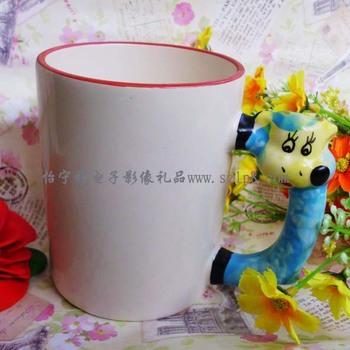 Zodiac ceramic mug cup body printing personalized photo LOGO picture DIY fashion birthday new store opening celebration gift