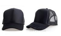 Brand New  Mesh Hand painted Cap hip-hop Cap Team Cap Trucker Hat Cap Women / Ladies Junior Black NO34673