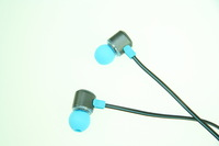Free Shipping!! DIY earphone Metal earphone Fashion headphones for ipod iphone Mobile phone and pc