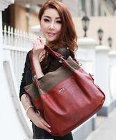 2013 Original HK OPPO Brand HOT Freeship high quality women's vintage Genuine leather handbag wine red messenger bags Promotion