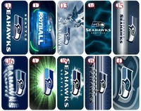 new skin design Seahawks hard back cover case for iphone 4 4th 4s bulk 10PCS/lot case+free shipping