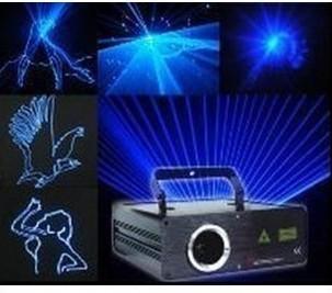 Single blue laser light blue laser ktv laser light voice activated laser stage lighting(China (Mainland))