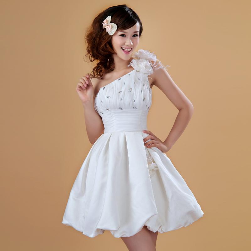 Picture about Osa Bell formal dress short formal dress bride dress ...