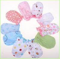 20pair/lot 100% Cotton Carter Baby Mitten Gloves Infant Children Mittens Golve Warm Gloves Newborn Anti-grasping Glove NB