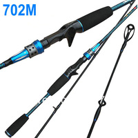 Magic Casting Fishing Rods 702M Carbon Rod 210cm Medium Power