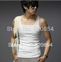 Free Shipping,Hot men`s cotton undershirt, man top,vest, singlet,undershirt,underwaist, sweater,garment,waistcoat, 100pcs/lots