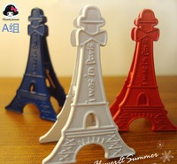 Fancy 3 colors eiffel clip free shipping 3.5x5cm 3pcs/set 3.5USD/set