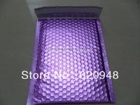 Free shipping  Matt Purple aluminum foil bubble envelope mailers 20*25cm,metallic bubble envelope mailer bags