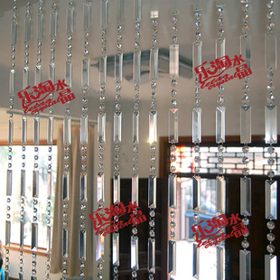 Triangle bar finished product crystal bead curtain entranceway partition bar wine cooler shoe curtain bead curtain(China (Mainland))