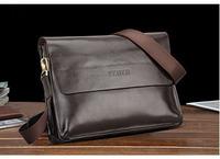 HOT ! Feger Genuine leather bag / buiness handbag / man briefcase / man's messenger bag / messenger bag for man#MB45