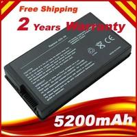 5200mAh Battery for Asus A8 A8000 A8A A8E A8H A8J A8M A8N A8Z F50 F50Z F8 F80 F80S F81 F83 F8P N80 N81 X61 X80 X81 X85 X88 Z99