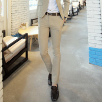 Hct male western-style trousers 2013 spring and summer slim fashion male casual men's clothing trousers suit pants