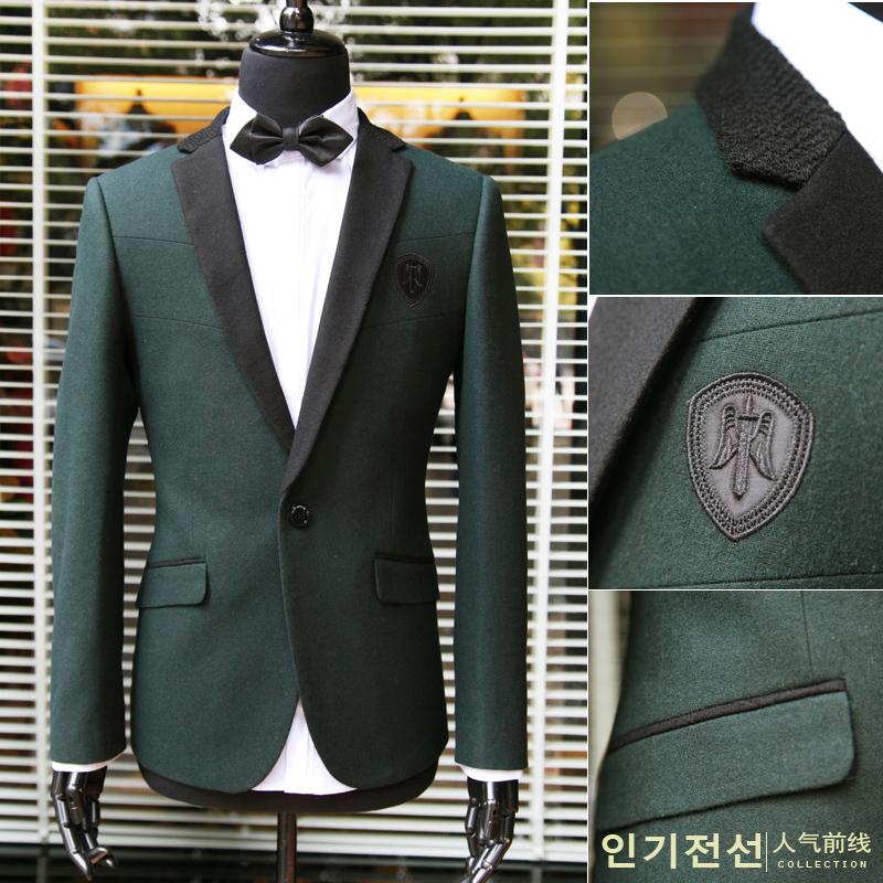 Casual Suit Jackets For Men Casual Woolen Suit Jacket