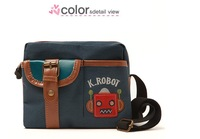 High quality children should bag and infants robot pattern school male
