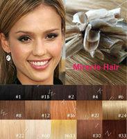 Bulk Stock: 18'' 20'' 22'' 24'' #4 dark brown 100s/lot 1g/s Keratin U tip Nail Indian human Remy Hair Extensions AAA Grade