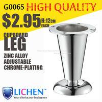 Cup shape Zinc alloys Legs&Furniture Legs&Cabinet Legs&Chrome-plating Brushed Nickel Bronze Sofa Legs (4 pieces/lot) LICHEN