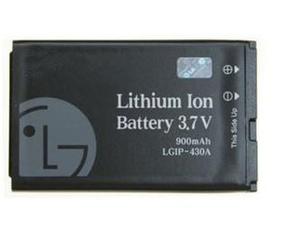 Rechargement Battery LGIP-430G For LGKF390 KP260 CF360 AT&T CU720 Shine 620G batterie bateria free shipping(China (Mainland))