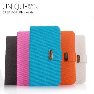 Free shipping for iphone 4 4s  the UNIQUE series phones protective holster.