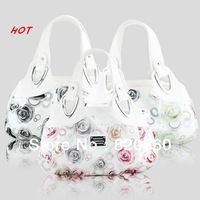 Western style dream flower series women handbag the ink and dream style totes