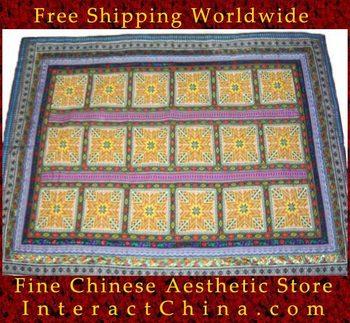 """Ручной вышивки крестом одеяло гобелен двухпозиционное 53 x 74 """" вышивка швейного искусства , # 122"""