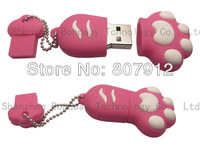 Cute design Hot sale specially Bear's paw OEM usb stick