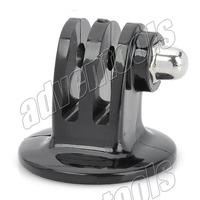 "Hot sell  fast assemble 1/4"" screw  tripod  adapter tripod mount  for gorpo hero3/hero2 -Black /SJ4000/SJ5000"