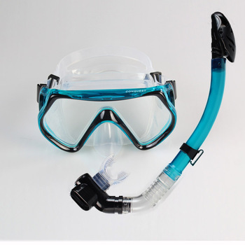 Full dry submersible mirror triratna snorkeling triratna snorkeling breathing tube set