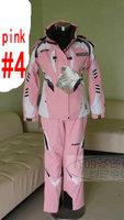 Free Shipping New Fashion Outdoor lady  mountain ski clothes ski suits women ski jacket + Pants ski wea